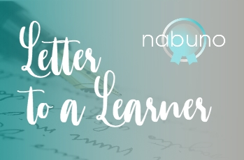Letter to a learner – Carrie Leigh Allen